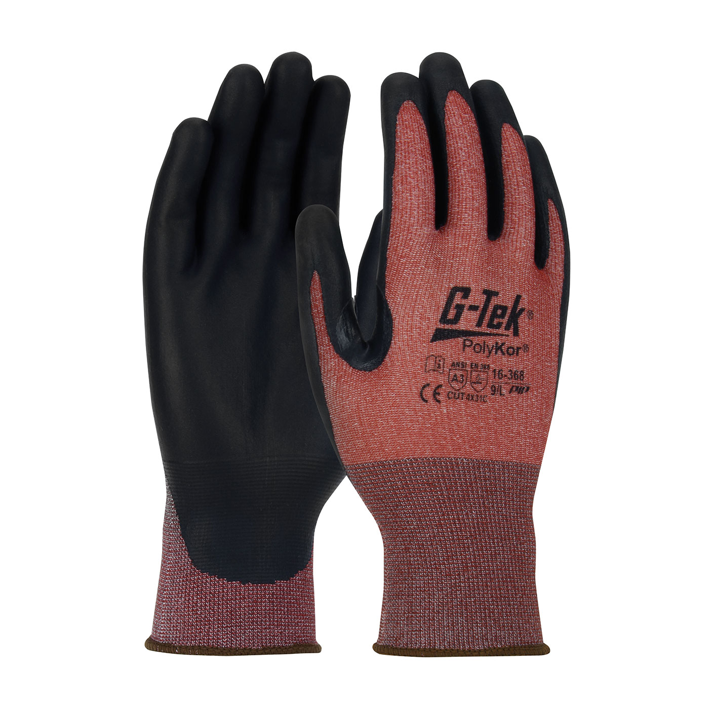PIPR 16-368/S Seamless Knit PolyKor® X7™ Blended Glove with NeoFoam® Coated Palm & Fingers - Touchscreen Compatible