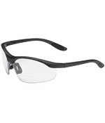 PIPR 250-25-0015 MAG READERS EYEWEAR, READING MAGNIFIER, CORRECTIVE BIFOCAL +1.50 DIOPTER, CLEAR POLYCARBONATE LENS, BLACK NYLON FRAME, RUBBER NOSE AND