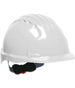 PIPR 280-EV6151-20 EVOLUTION DELUXE 6151 HARD HAT, YELLOW, 6-PT POLYESTER TEXTILE SUSPENSION, WHEEL RATCHET ADJUSTMENT, NON-VENTED, ANSI